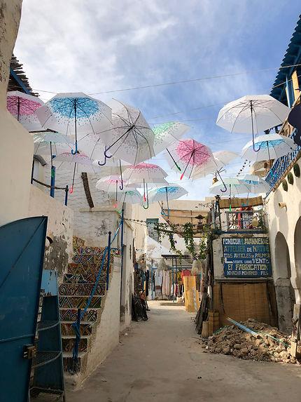 Ruelle de Houmt-Souk, Tunisie