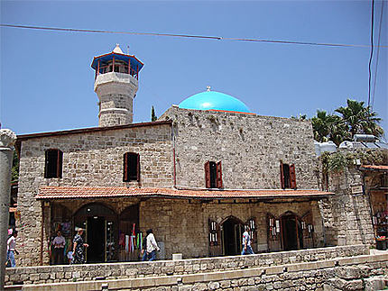 Petite mosquée dans la vieille ville