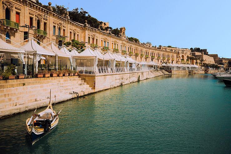Les quais de Valletta Waterfront