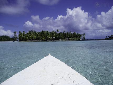 Sur le lagon de Bora-Bora