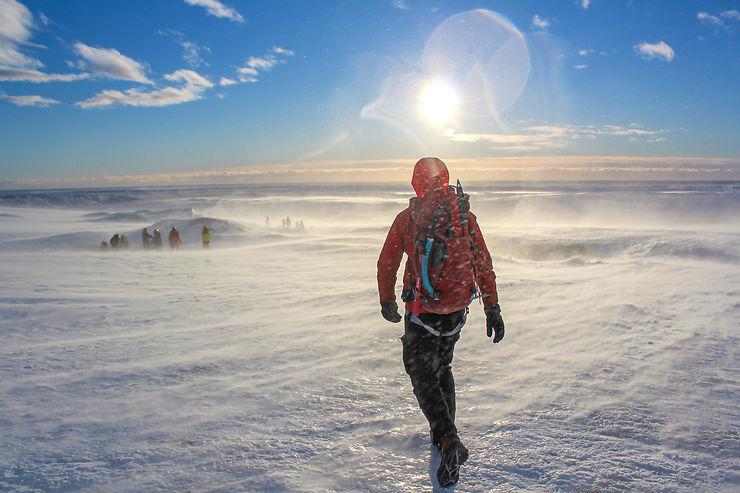 Conquête de l'Arctique ! Islande