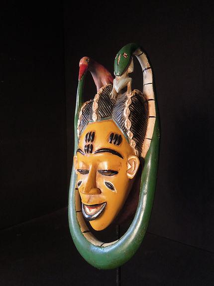 Masque de reine gouro