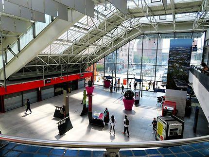 Interieur de la Gare d'Evry