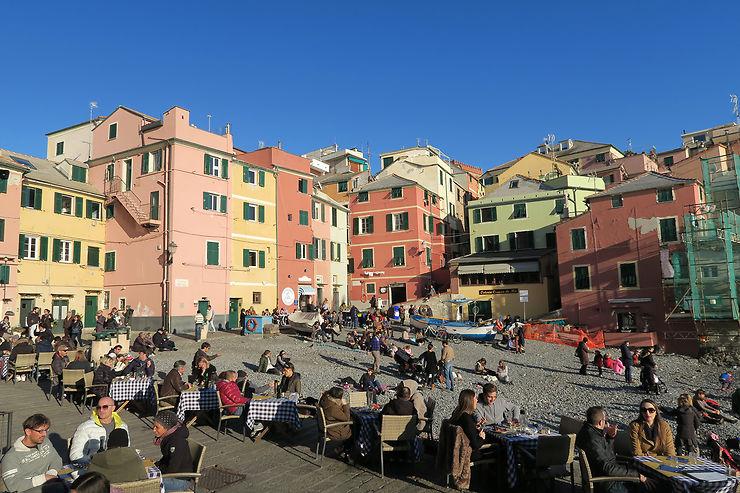 Boccadasse et Nervi : la Riviera de Gênes