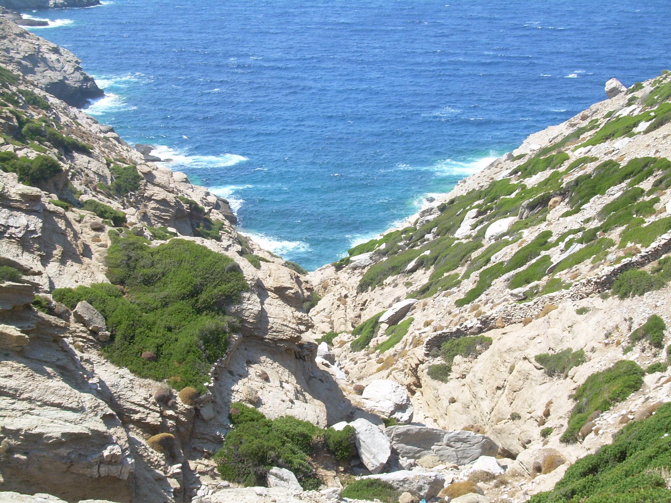 Île d'Amorgos - Îles grecques