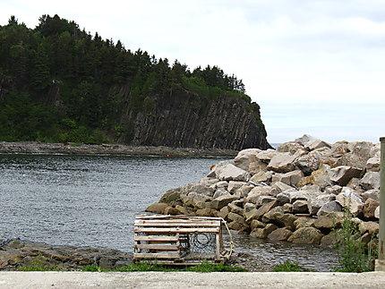 Paysage de la Mer à Petite-Vallée