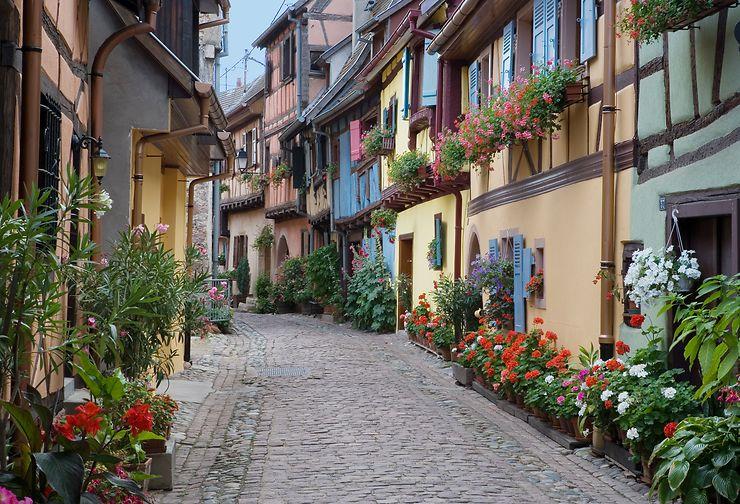 Eguisheim, Kaysersberg... Les villages de la route des vins (Haut-Rhin)