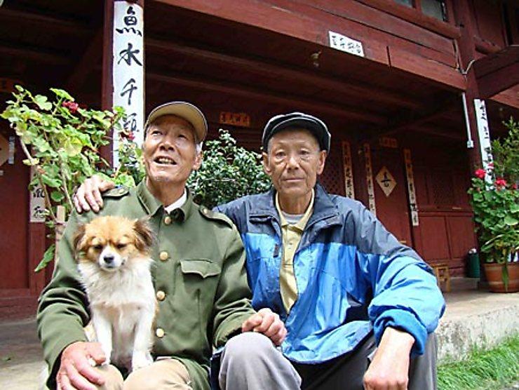 Yuhu, la ferme-auberge des frères Gao et Giang