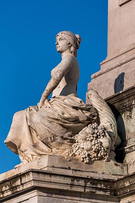 Allégorie de la ville de Bordeaux
