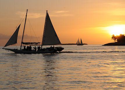 Sunset to Key West