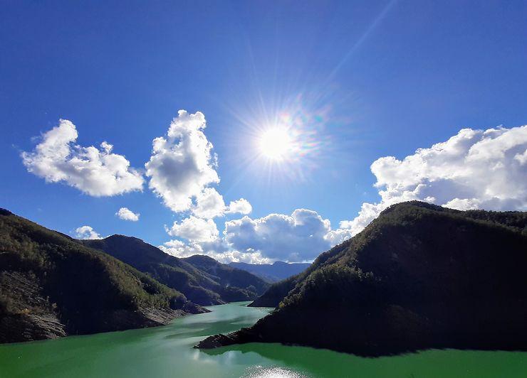 Lac de Ridracoli, Italie