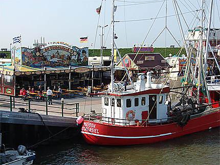 Port de Dornumersiel, côte Frisonne
