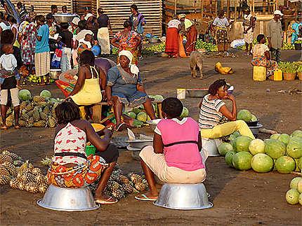 Marché aux fruits et légumes d'Elmina