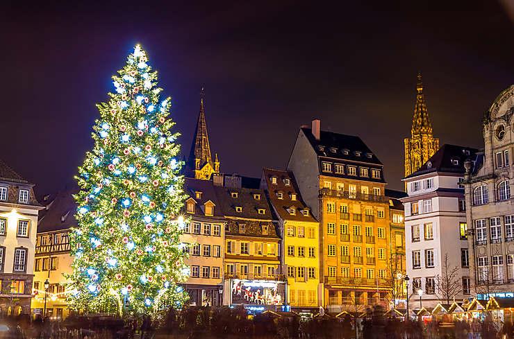 Image De Noel En Alsace.Marches Et Festivites De Noel En France Marches De Noel