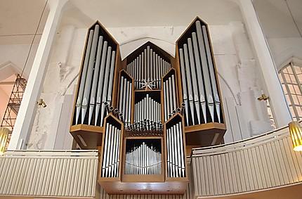 """Les grandes orgues de la """"Nikolaikirche"""""""