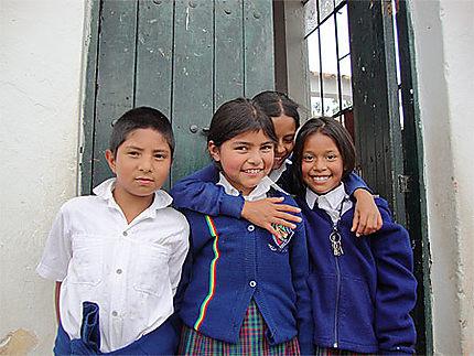 Etudiants de Villa de Leyva