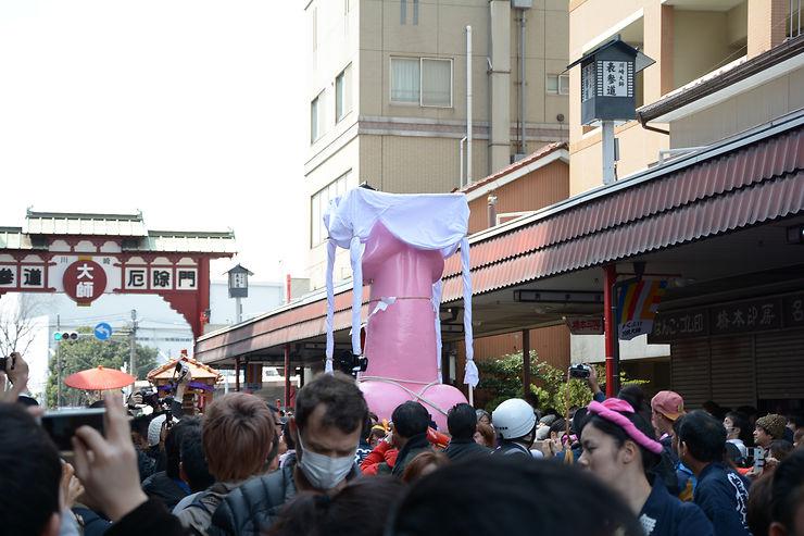 Phallus géant - Kawasaki, Japon
