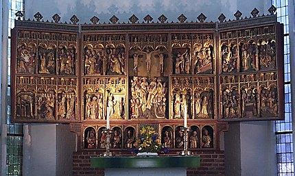 "L'autel de la ""Nikolaikirche"""