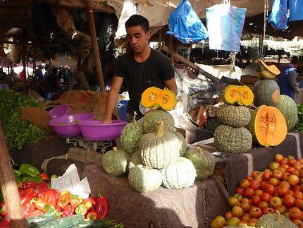 Le marché aux légumes de Tiznit