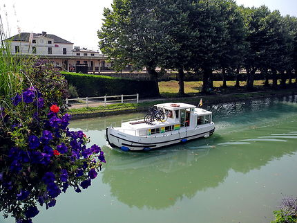 Migennes et le canal de Bourgogne