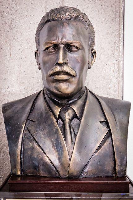 Musée de l'Armée à Alger : buste de Boumediene