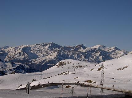 Col d'Envavalira en Andorre à 2 400 m d'altitude