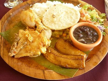 Casado, un des plats nationaux du Costa Rica
