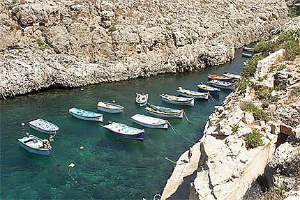 Parking des bateaux de pêche