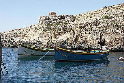 Les bateaux typiques et le mirador