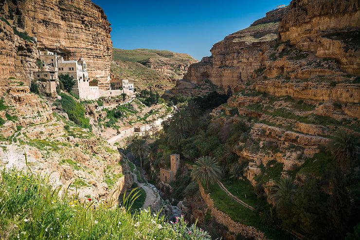 Monastère Saint-Georges dans le Wadi Quelt