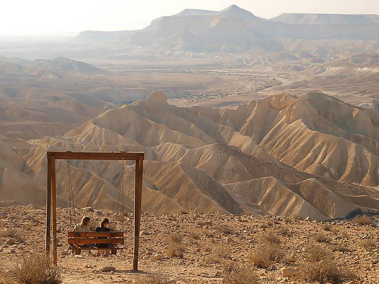 Israël - Neguev Highland, un site pour un trek dans le désert