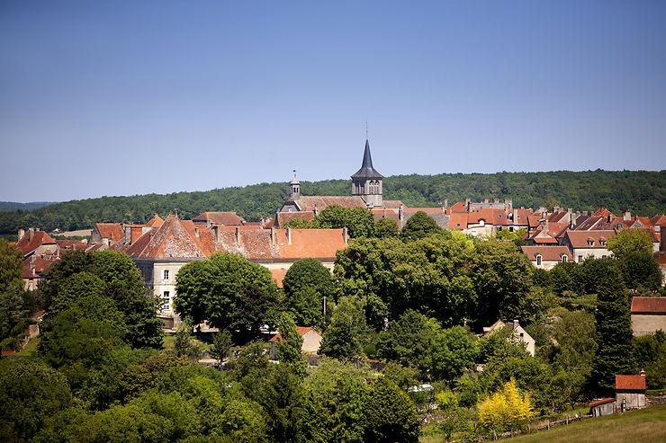 Flavigny-sur-Ozerain (Côte d'Or)