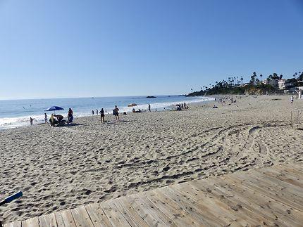 La plage de Laguna beach