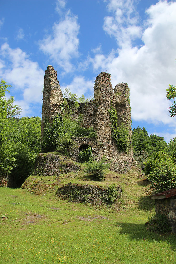 Tour de l'obédience, Chartreuse Port-Sainte-Marie, Auvergne