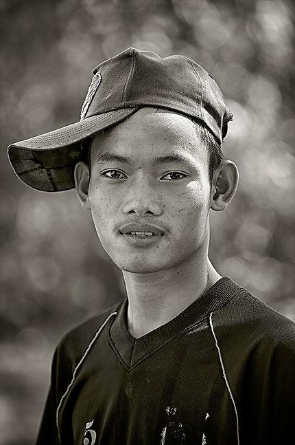 Jeune lao de Don Khone