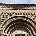 Entrée de la cathédrale mudéjar