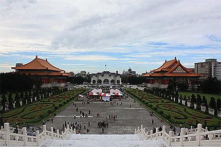 View from Tchang Kaï-chek Memorial