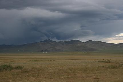 Paysages et steppe