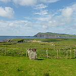 Paysage de rêve sur la péninsule de Dingle