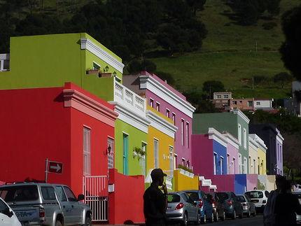 Cap Town Afrique du Sud quartier pittoresque