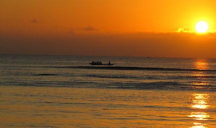 Coucher de soleil à l'Île Sainte-Marie