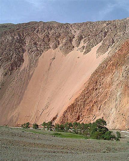 Le canyon de la Kekemeren