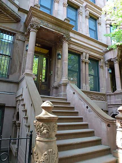 Entrée immeuble Harlem
