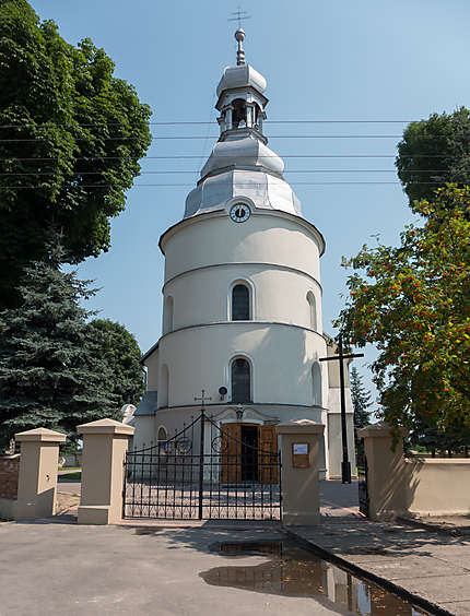 Eglise paroissiale à Slawsk
