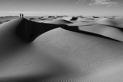Dunes dans le Hoggar