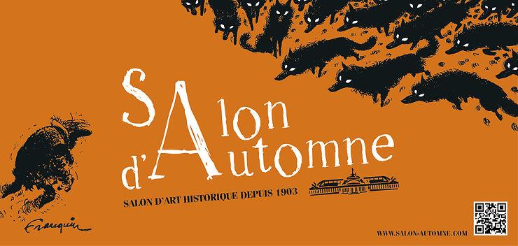 Salon d'automne sur les Champs-Élysées à Paris