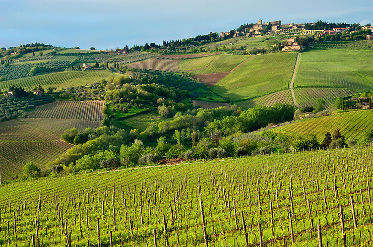 Chiantigiana : la route du chianti (Toscane)