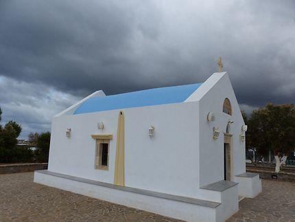 Une adorable chapelle dans la tourmente