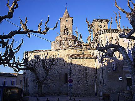 St-Just d'Ardèche, les 2 clochers