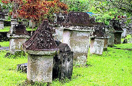 Tombes à Manado